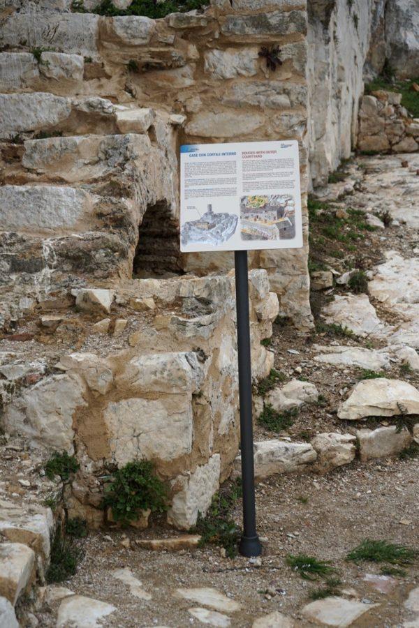 Segnaletica parco archeologico